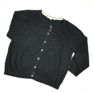 Boden Cardigan Girls Sweater Cotton Cashmere Blend